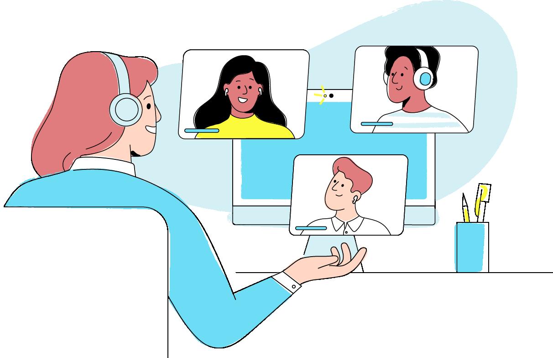 Personio_Person in video conference-3